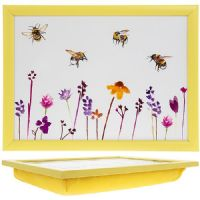 Busy Bees Large Lap Tray by Jennifer Rose Gallery